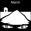 March Pictogram