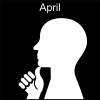 April Pictogram