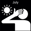 July Pictogram