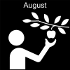 August Pictogram