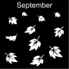September Pictogram