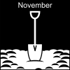 November Pictogram