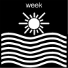 week Pictogram