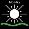 Monday Pictogram