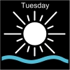 Tuesday Pictogram