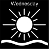 Wednesday Pictogram