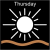Thursday Pictogram