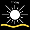 Friday Pictogram
