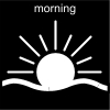morning Pictogram