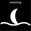 evening Pictogram