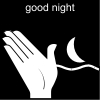 good night Pictogram
