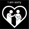 I am sorry Pictogram