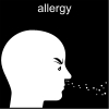 allergy Pictogram