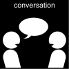 conversation Pictogram