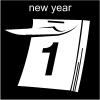 new year Pictogram