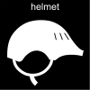 helmet Pictogram