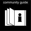 community guide Pictogram