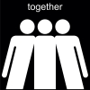 together Pictogram