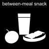 between-meal snack Pictogram