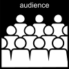 audience Pictogram