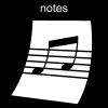 notes Pictogram