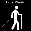 Nordic Walking Pictogram