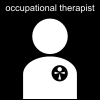 occupational therapist Pictogram