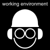 working environment Pictogram