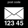 post code Pictogram