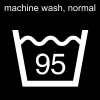 machine wash, normal Pictogram