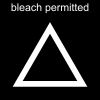 bleach permitted Pictogram
