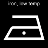 iron, low temp Pictogram