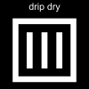drip dry Pictogram