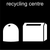 recycling centre Pictogram