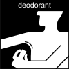 deodorant Pictogram