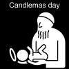 Candlemas day Pictogram