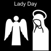 Lady Day Pictogram