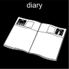 diary Pictogram