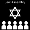 Jew Assembly Pictogram