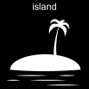 island Pictogram