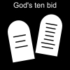 God's ten bid Pictogram
