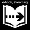 e-book, streaming Pictogram