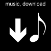 music, download Pictogram