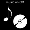 music on CD Pictogram