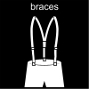 braces Pictogram