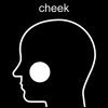 cheek Pictogram