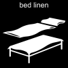 bed linen Pictogram