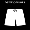 bathing-trunks Pictogram