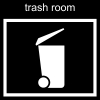 trash room Pictogram