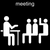 meeting Pictogram